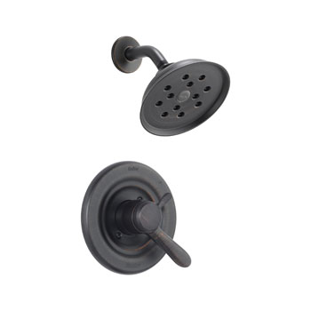Delta T17238-RBH2O Lahara Monitor 17 Series Shower Trim with H20Kinetic Technology - Venetian Bronze