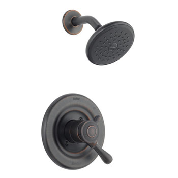 Delta T17278-RB Leland Monitor 17 Series Shower Trim Kit - Venetian Bronze