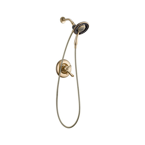 Delta T17294-CZ-I Linden Monitor 17 Series Shower Only with In2ition Two in One Shower - Champagne Bronze