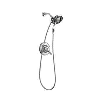 Delta T17294-I Linden Monitor 17 Series Shower Only with In2ition Two in One Shower - Chrome