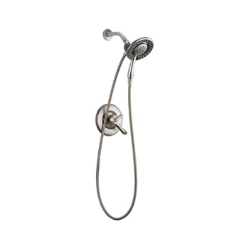 Delta T17294-SS-I Linden Monitor 17 Series Shower Only with In2ition Two in One Shower - Stainless Steel
