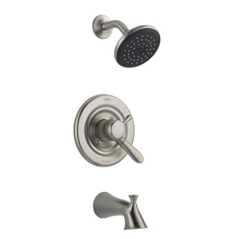 Delta T17438-SS Lahara Monitor 17 Series Tub & Shower Trim Kit - Brilliance Stainless