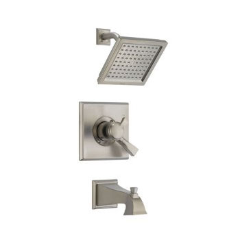 Delta T17451-SS Dryden Monitor(R) Pressure Balance Tub/Shower Trim with Volume Control Brilliance Stainless