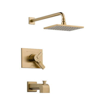Delta T17453-CZ Vero Monitor 17 Series Tub and Shower Trim - Champagne Bronze