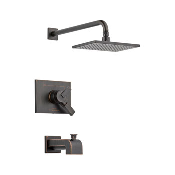 Delta T17453-RB Vero Monitor 17 Series Tub and Shower Trim - Venetian Bronze