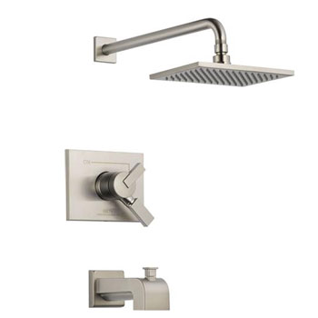 Delta T17453-SS Vero Monitor 17 Series Tub and Shower Trim - Brilliance Stainless