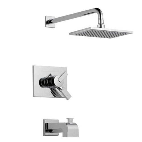 Delta T17453 Vero Monitor 17 Series Tub and Shower Trim - Chrome