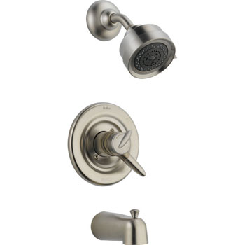 Delta T17485-SS Grail Monitor 17 Series Tub and Shower Trim - Stainless Steel