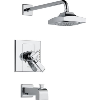 Delta T17486 Arzo Monitor 17 Series Tub and Shower Trim - Chrome