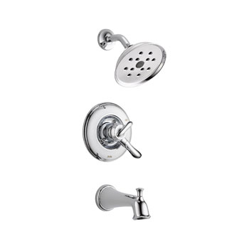 Delta T17494 Linden Monitor 17 Series Tub and Shower Trim - Chrome