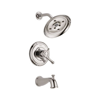 Delta T17497-PN Cassidy MultiChoice 17 Series Tub and Shower Trim - Polished Nickel