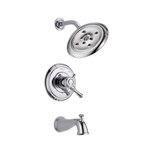 Delta T17497 Cassidy MultiChoice 17 Series Tub and Shower Trim - Chrome