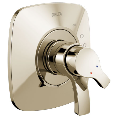 Delta T17T052-PN Tesla TempAssure 17T Series Valve Only Trim - Polished Nickel