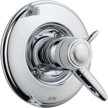 Delta T17T085 Grail TempAssure 17T Series Valve Trim Only - Chrome