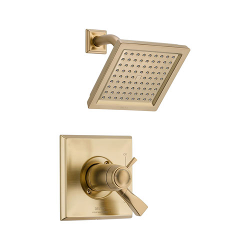 Delta T17T251-CZ Dryden TempAssure Thermostatic Shower Trim - Champagne Bronze