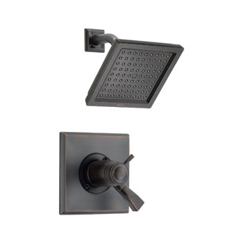 Delta T17T251-RB Dryden TempAssure(R) Thermostatic Shower Trim - Venetian Bronze