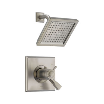 Delta T17T251-SS Dryden TempAssure(R) Thermostatic Shower Trim - Brilliance Stainless