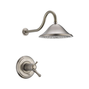 Delta T17T297-SS Cassidy MultiChoice 17T Series Shower Trim - Stainless Steel