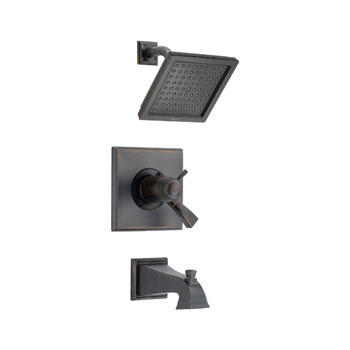 Delta T17T451-RB Dryden TempAssure Thermostatic Tub/Shower Trim - Venetian Bronze