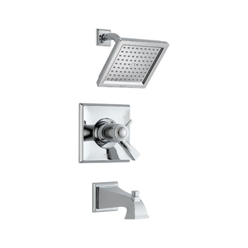Delta T17T451 Dryden TempAssure Thermostatic Tub/Shower Trim - Chrome