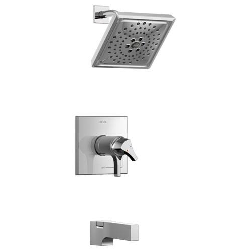 Delta T17T474 Zura TempAssure 17T Series Tub and Shower Trim - Chrome