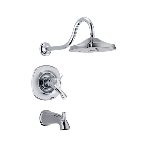 Delta T17T492 Addison TempAssure 17T Series Tub and Shower Trim - Chrome