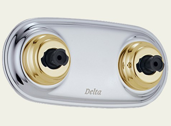 Delta T1817-CB Innovations Collection Jet Module XO Trim Chrome & Brilliance Polished Brass