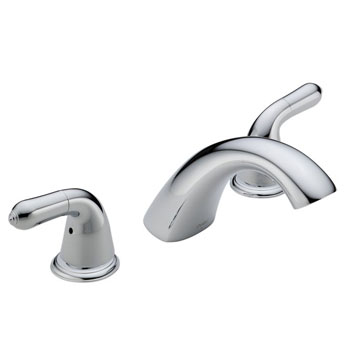 Delta T2730-LHP Innovations Roman Tub Faucet Trim Chrome