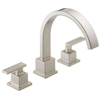 Delta T2753-SS Vero Roman Tub Trim - Brilliance Stainless