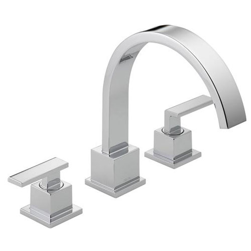 Delta T2753 Vero Roman Tub Trim - Chrome