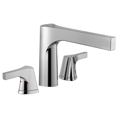 Delta T2774 Zura Roman Tub Trim - Chrome