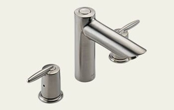 Delta T2785-SS Grail Two Handle Roman Tub Faucet Trim Brilliance Stainless