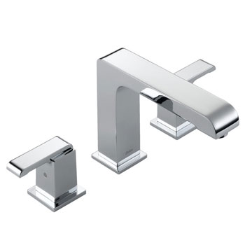 Delta T2786 Arzo Roman Tub Faucet Trim Chrome
