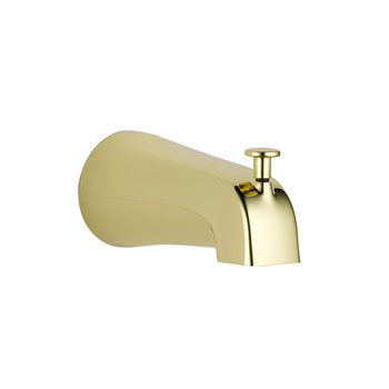 Delta U1075-PB-PK Diverter Tub Spout - Polished Brass