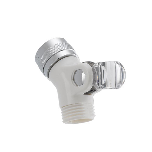 Delta U4002-WH-PK Pin Mount Swivel Connector for Handshower - White