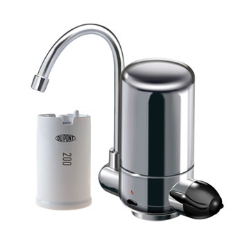 DuPont WFFS150XCH Side Sink Countertop Faucet Filter System - Chrome