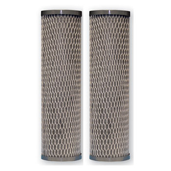 DuPont WFPFC8002 2 Pack Universal Whole House Carbon Wrap 2-Phase Cartridge