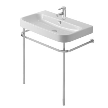 Duravit 0030781000 Happy D.2 Metal Console - Chrome