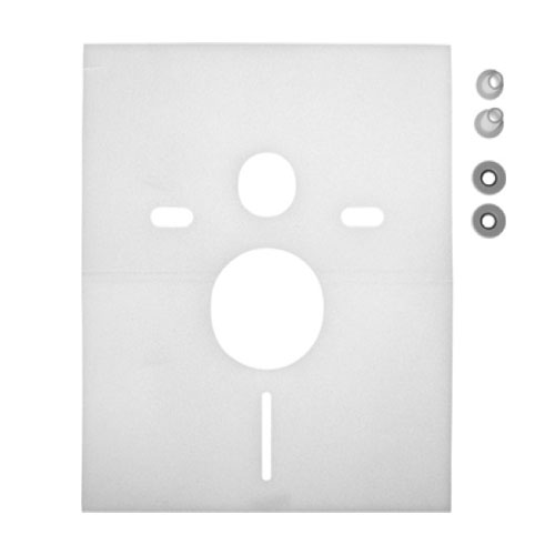 Duravit 0050640000 Noise Reduction Gasket for Wall Mounted Toilet