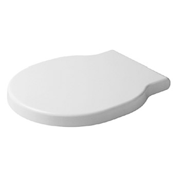 Duravit 0060210000 Bathroom Foster Toilet Seat and Cover - White