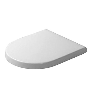 duravit starck 3 round toilet seat and cover white