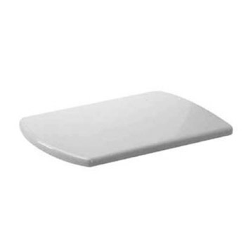 duravit caro elongated toilet seat and cover less white