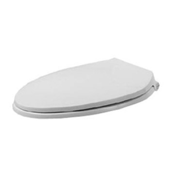 Duravit 0066790000 Metro Elongated Toilet Seat and Cover - White