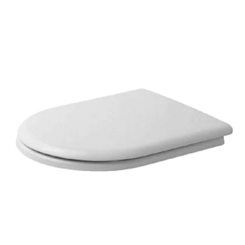 duravit happy d toilet seat and cover white