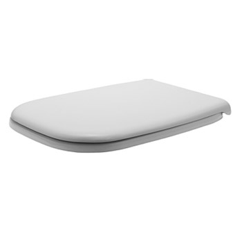 duravit dcode elongated toilet seat and cover white