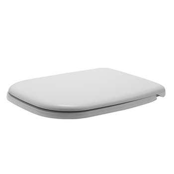 Duravit 0067390000 D-Code Toilet Seat and Cover - White