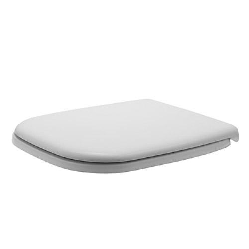 Duravit 0067410000 D-Code Elongated Toilet Seat and Cover - White
