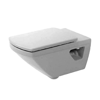 Duravit 01560900921 Caro Wall Mounted Toilet Washdown - White/WonderGliss