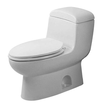 Duravit 0157010092 Metro One Piece Toilet - Alpine White