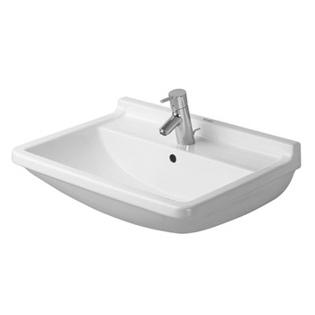 Duravit 0300650000 Stark 3 Washbasin with Overflow - White